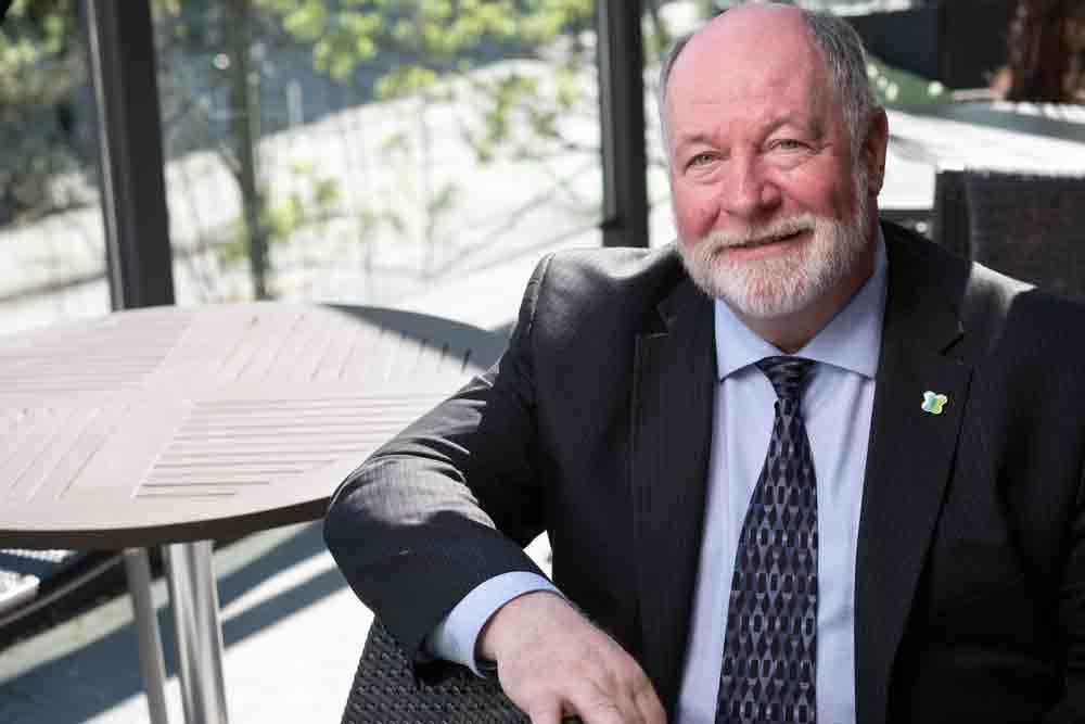 Gerry Backs, Director of Development Kidney Canada