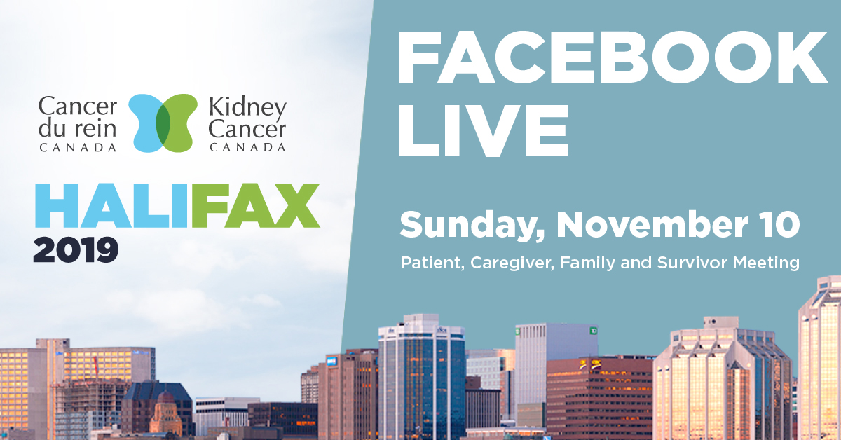 Kidney Cancer Canada patient and caregiver meeting - Maritimes 2019