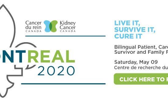 Kidney Cancer Canada's Patient & Caregiver Forum in Montreal postponed du to COVID-19
