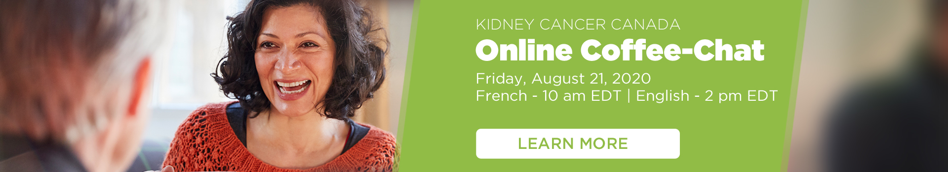 Kidney Cancer Canada - Online Coffee Chat