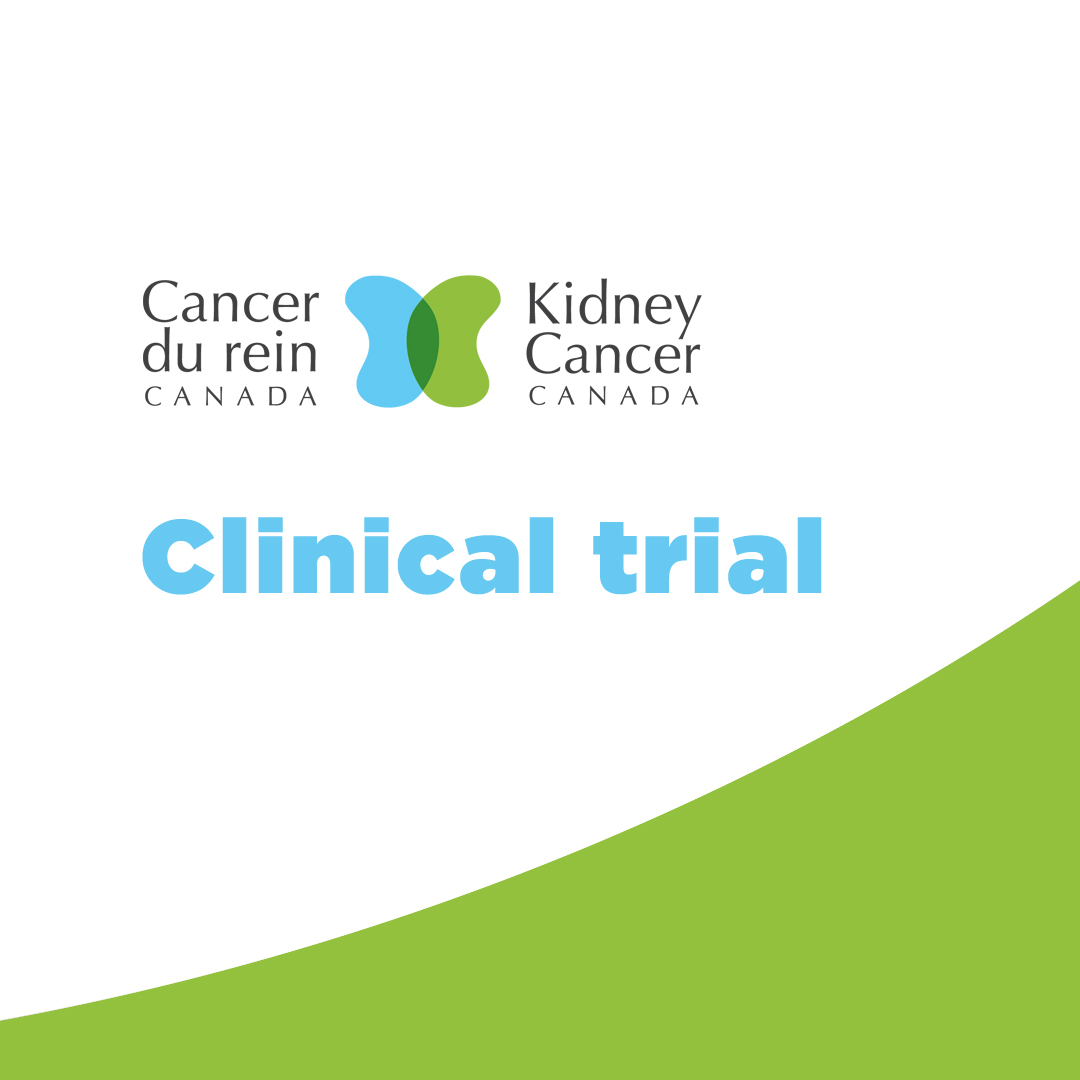 Kidney cancer clinical trial
