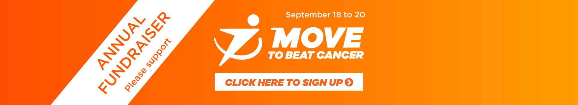 Move to Beat Cancer - Fundraising event for Kidney Cancer Canada
