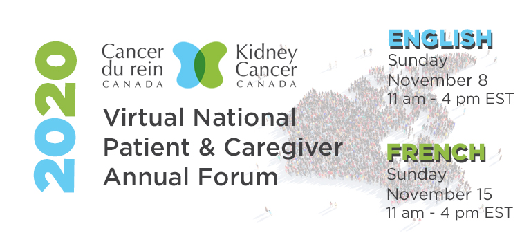 Kidney Cancer Canada National Patient and Caregiver Annual Forum 2020