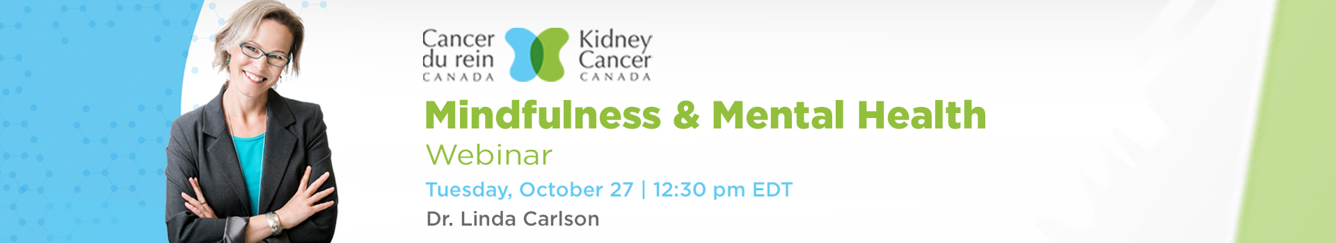 Dr. Linda Carlson - Kidney Cancer Canada Webinar Mindfulness & Mental Health