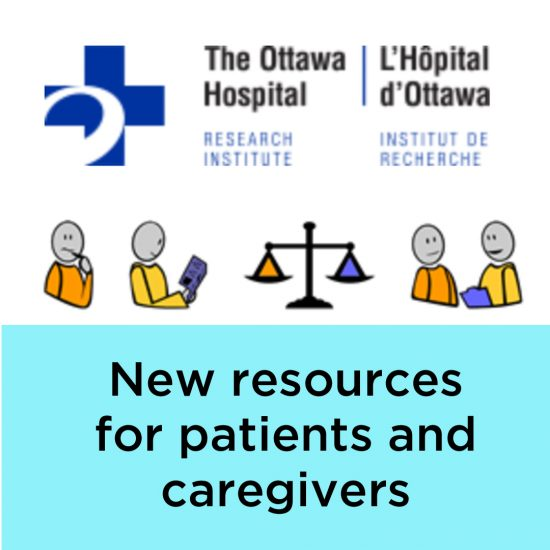 Ottawa Hospital - Decision aid for kidney cancer patients and their caregivers