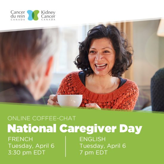 Kidney Cancer Canada Caregiver Coffee-Chat - April 6, 2021