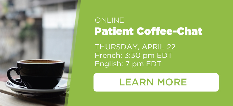 Kidney Cancer Canada Coffee-Chats for patients and caregivers