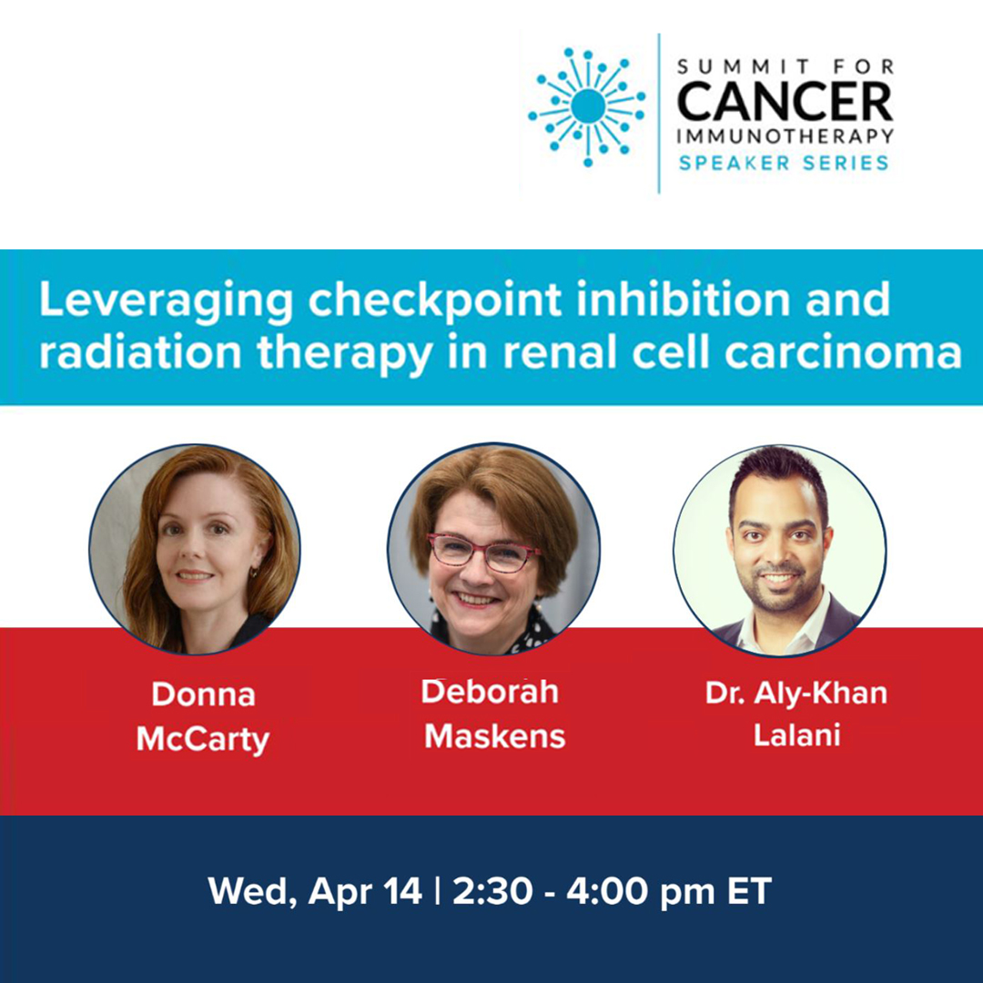 Summit for cancer immunotherapy - webinar
